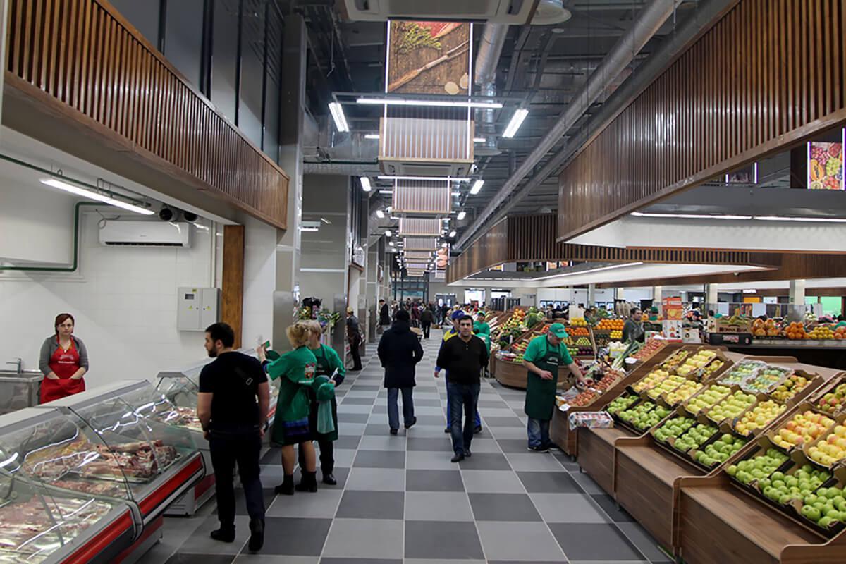 Открытие Велозаводского рынка